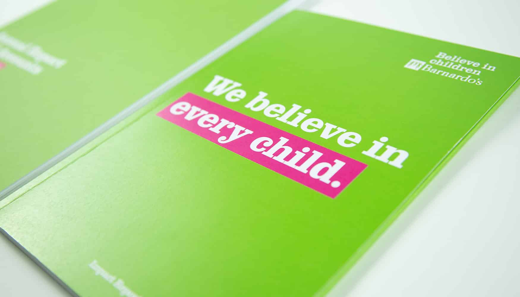 Barnardo's impact report 2019 covers