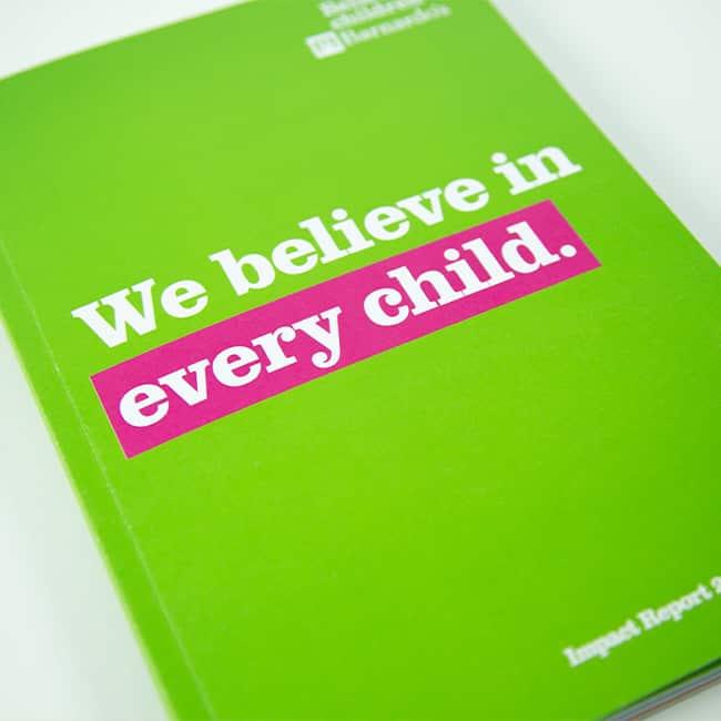 Barnardo's impact report 2019 cover