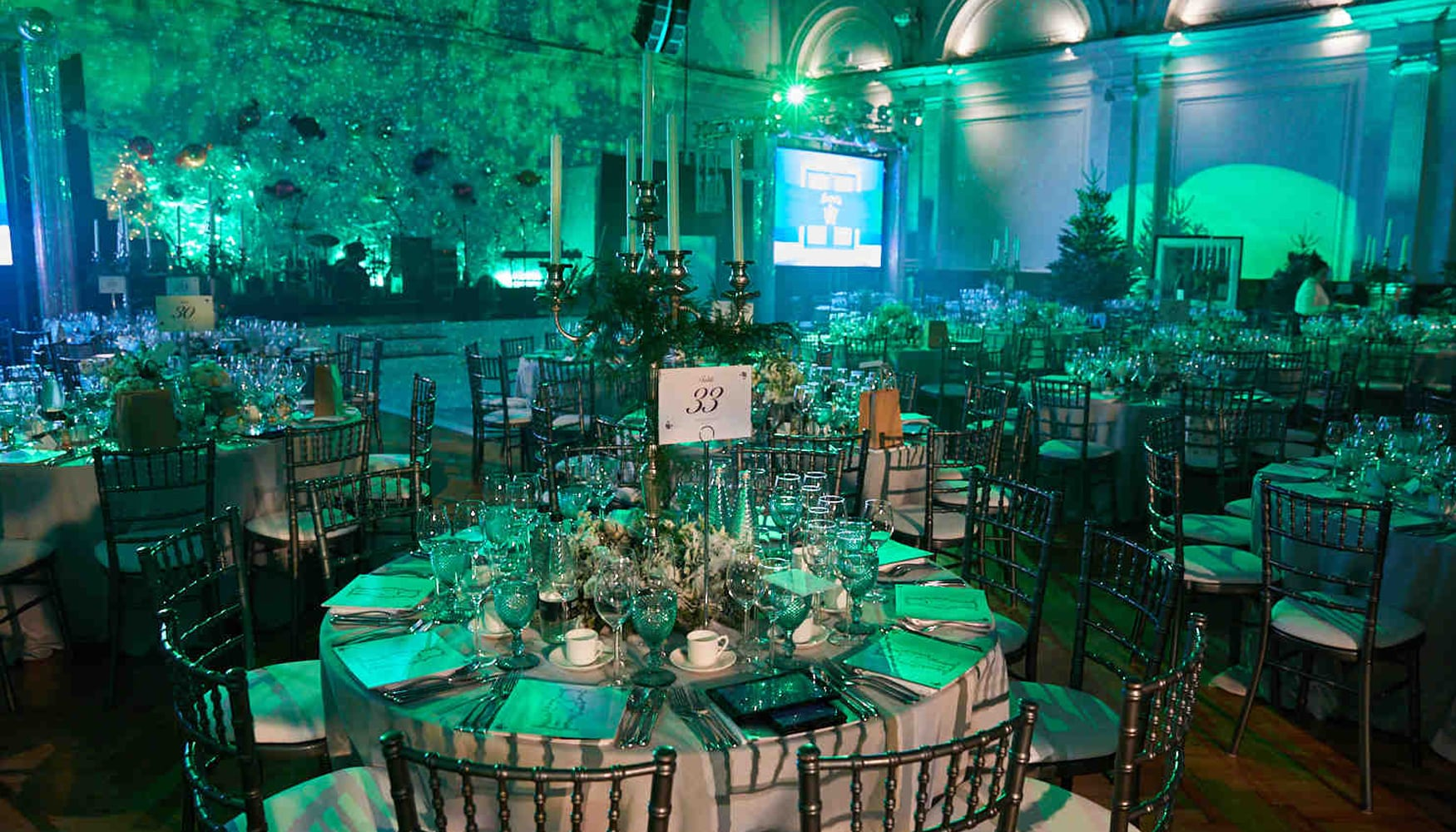 Cancer Research UK Emeralds & Ivy Ball event venue