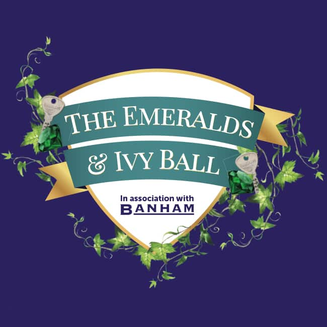 Cancer Research UK Emeralds & Ivy Ball logo