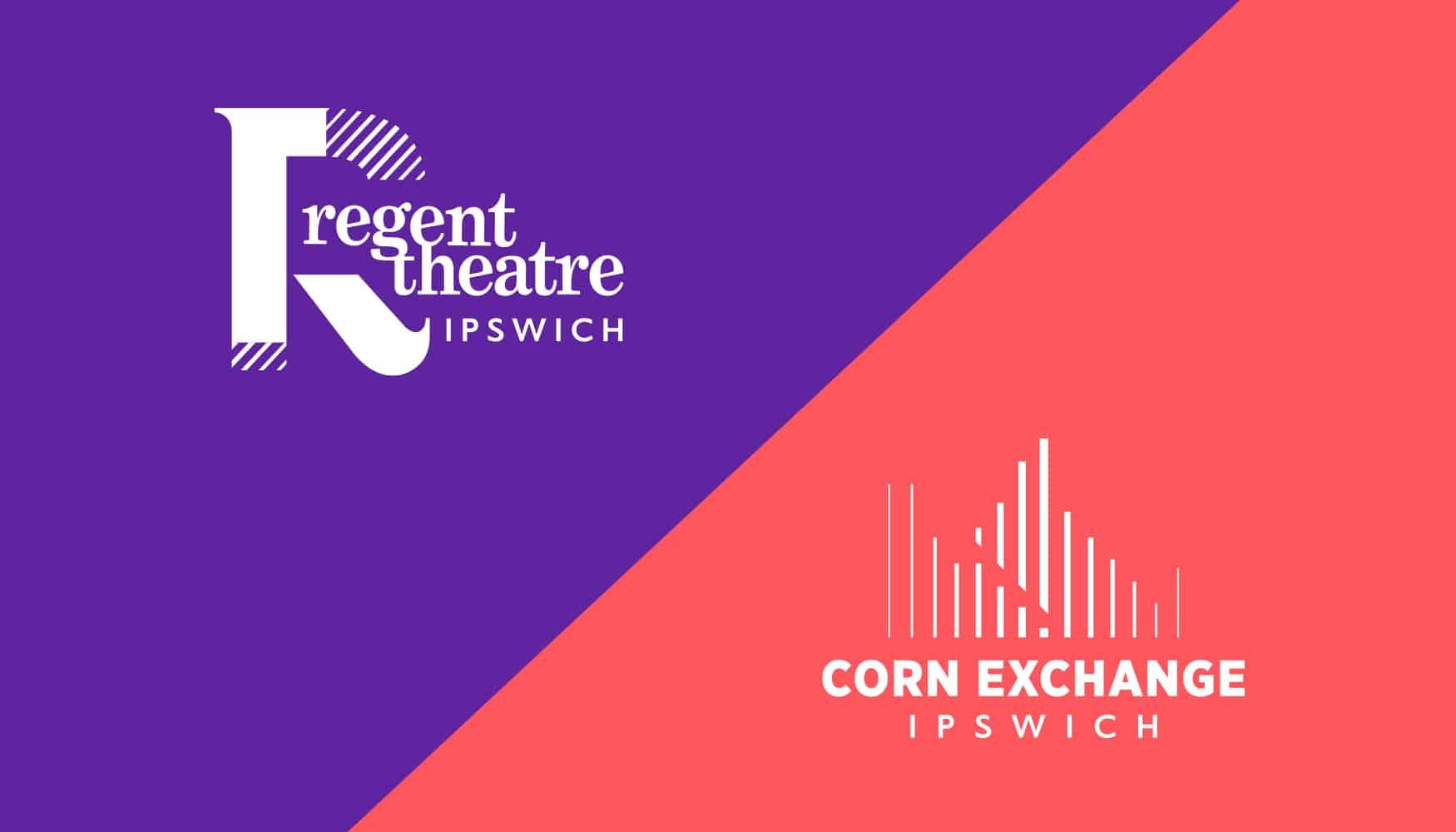 Ipswich Theatres rebrand identities