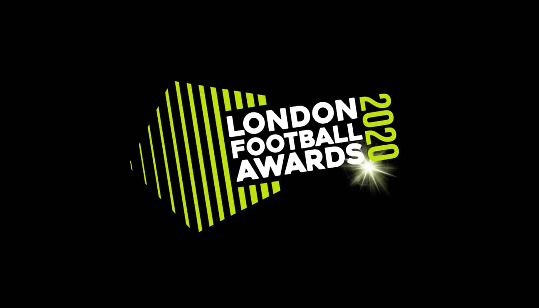 London Football Awards 2020 event identity