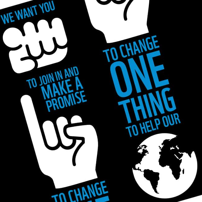WWF Earth Hour campaign detail