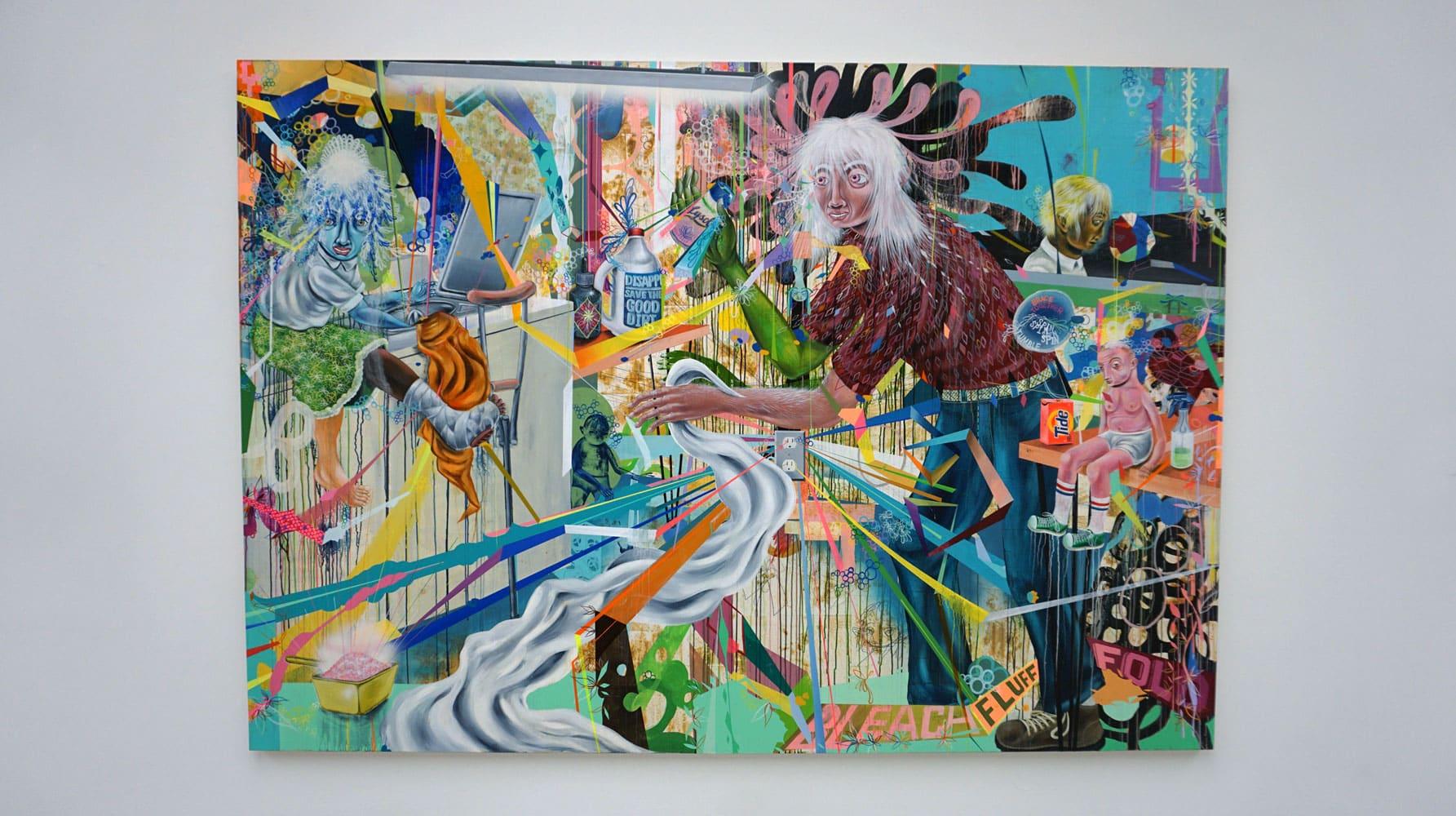 The Black Mirror: Art as Social Satire exhibition image