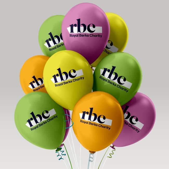 Royal Berks Charity balloons