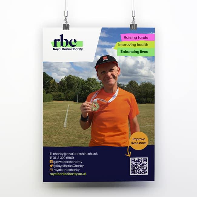 Royal Berks Charity fundraising poster