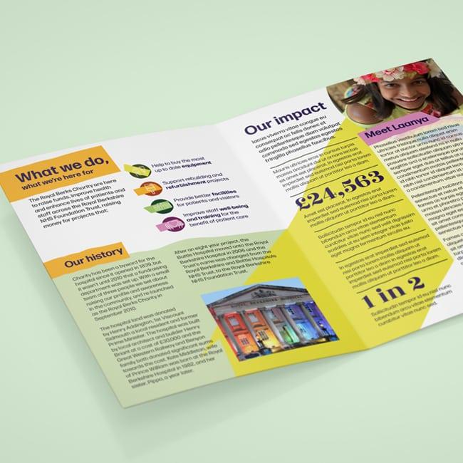 Royal Berks Charity Leaflet