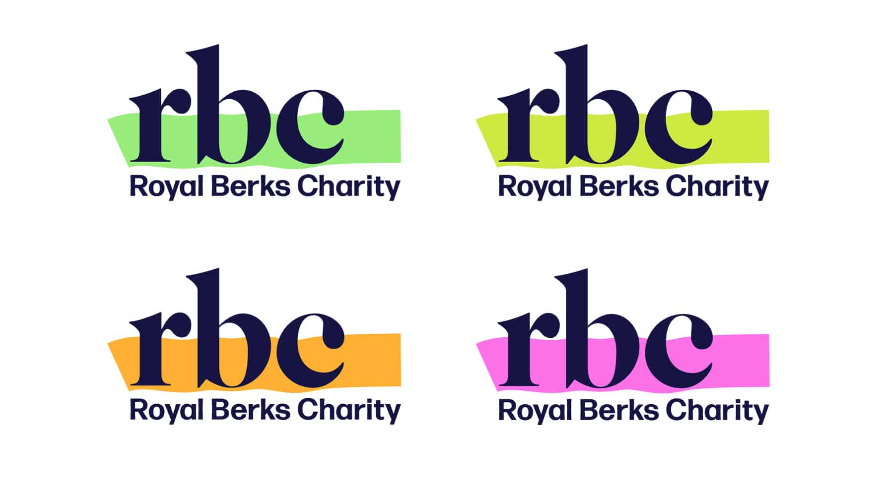 Royal Berks Charity logos