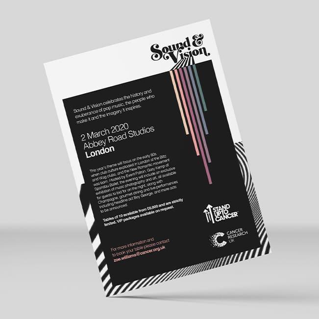 CRUK-Sound-and-Vision Invite