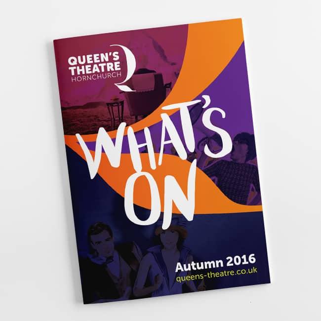 Queen's Theatre Hornchurch web design website