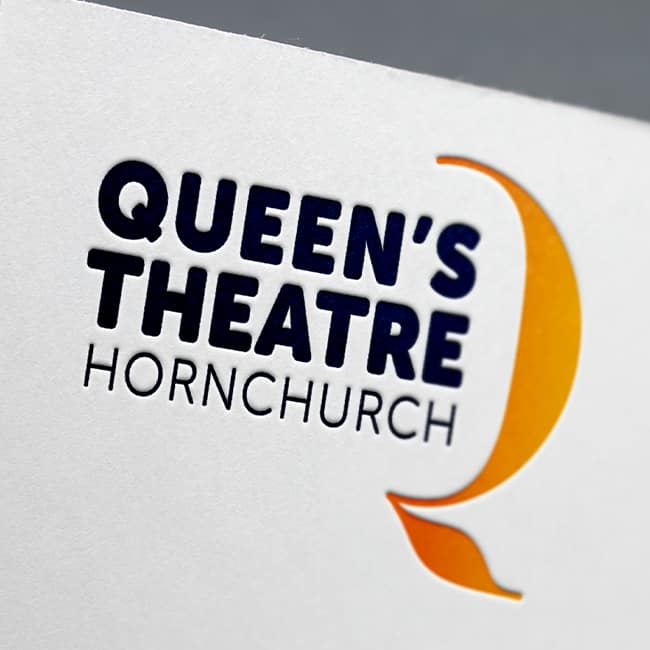 Queen's Theatre Hornchurch web design website