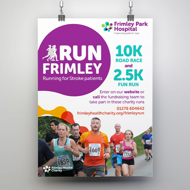 Frimley Health Charity Rebrand